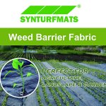 Synturfmats-Weed-Control-Fabric-Heavy-Duty-Weed-Barrier-Landscape-Fabric-Membrane-Ground-Cover-UV-Resistant-0-1