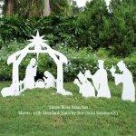 Teak-Isle-Christmas-Outdoor-3-Wise-Men-Nativity-Figures-0-0