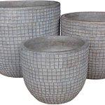 Zen-Garden-Checks-Terracotta-Planter-Set-of-3-Color-Natural-0