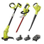Ryobi-P2015-ONE-18-Volt-Lithium-ion-Cordless-Trimmer-Blower-Hedge-Combo-Kit-ZRP2015-Certified-Refurbished-0