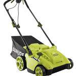 Sun-Joe-MJ506E-16-in-65-Amp-Quad-Wheel-24-Blade-Electric-Reel-Lawn-Mower-w-Grass-Catcher-0