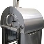 31-Wood-Fired-Stainless-Steel-Artisan-Pizza-Oven-or-Grill-with-Side-Tables-Outdoor-or-Indoor-0