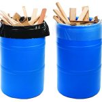 38-X-65-3-Mil-55-60-Gallon-Clear-Drum-Liners-on-Roll-100-Roll-Laddawn-6905-0