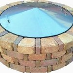 39-Round-Stainless-Steel-Metal-Fire-Pit-Cover-Top-Lid-0