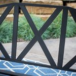 5-Foot-3-Person-Black-Metal-X-Back-Slatted-Porch-Swing-Outdoor-Patio-Garden-Furniture-0-1