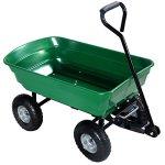 650LB-Garden-Dump-Cart-Dumper-Wagon-Carrier-Wheel-Barrow-Air-Tires-Heavy-Duty-0-9