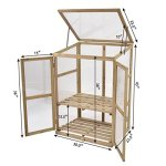 AK-Energy-Mini-Garden-Portable-Wooden-GreenHouse-Cold-Frame-Raised-Plants-Shelves-2-Double-Lock-Doors-0-1