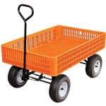 AM-Leonard-Orange-Utility-Wagon-30-x-46-x-75-Inch-Tray-0