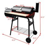 AyaMastro-455-BBQ-Grill-Charcoal-Barbecue-Pit-Patio-Backyard-Meat-Cooker-Smoker-Outdoor-wSide-Shelve-0-0