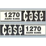 C1270-Brand-New-Case-Tractor-1270-Agri-King-Hood-Decal-Set-0