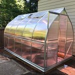 Climapod-7×12-6-MM-Twin-wall-Polycarbonate-Greenhouse-Spirit-Complete-kit-0