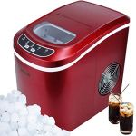 Della-Portable-Ice-Maker-up-to-26-pounds-of-Ice-Daily-Red-0