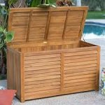 Elegant-90-Gallon-Finished-Acacia-Wood-Slatted-Euro-Finish-Decco-Design-Storage-Container-Deck-Box-Ventilated-Slats-Reduces-Moisture-Mildew-Perfect-For-Towels-Blankets-Pool-Toys-More-Portable-Strong-0-0