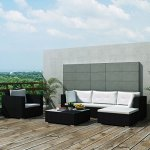 Garden-Sofa-Set-17-Pieces-Poly-Rattan-Black-Modular-Dining-Set-Weather-resistant-and-Waterproof-PE-Rattan-Sofa-Set-Suitable-for-Outdoor-Daily-Use-0