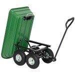 Garden-Wagon-Cart-Heavy-duty-Polycarbonate-Steel-Frame-650-lbs-Max-0-1