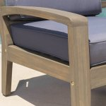 Grenada-Outdoor-Grey-Finished-Acacia-Wood-4-Piece-Chat-Set-with-Dark-Grey-Water-Resistant-Cushions-0-0