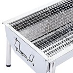 ISUMER-Portable-Thickened-Stainless-Steel-Outdoor-Charcoal-BBQ-Grill-Tabletop-Cooking-Charcoal-Grill-0-2