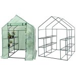 Lapha-Greenhouse-Plants-Flowers-Portable-Mini-Walk-In-Outdoor-Green-House-Plant-Growing-Tents-8-Shelves-2-Tier-0