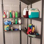 Lifetime-11-x-21-ft-Outdoor-Storage-Shed-with-Tri-Fold-Doors-0