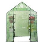 MascarelloPortable-Mini-8-Shelves-Walk-In-Greenhouse-Outdoor-4-Tier-Green-House-New-0-0