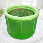 NUOAO-Ultralarge-Thickening-Bath-BucketBathtub-Adult-Folding-Inflatable-Bathtub-Double-With-Pump100cm80cm-0-1