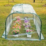 New-Outdoor-New-Mini-7x3x3-Portable-Plant-Flower-Gardening-Greenhouse-Hot-House-0-0