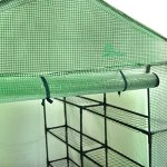 Palm-Springs-12-Shelf-Walk-in-Greenhouse-Cover-with-Roll-Up-Zipper-Door-0-2