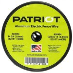 Patriot-Aluminum-Tire-Fence-Wire-Sturdy-Rustproof-Resists-Tarnish-14-Gauge-1320-0-0