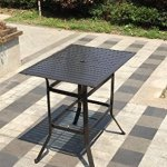 Pebble-Lane-Living-5pc-Cast-Aluminum-Swivel-Patio-Bar-Dining-Furniture-Set-Bronze-0-0