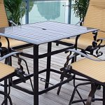 Pebble-Lane-Living-5pc-Cast-Aluminum-Swivel-Patio-Bar-Dining-Furniture-Set-Bronze-0-2
