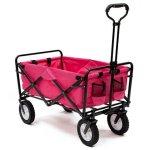Pink-Mac-Sports-Collapsible-Folding-Utility-Wagon-Garden-Cart-Shopping-Beach-0-0