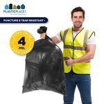 PlasticPlace-42-Gallon-Contractor-Bags-40-Mil-33W-x-48H-Black-50-case-0-1
