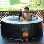 Portable-Inflatable-Bubble-Massage-Spa-Hot-Tub-4-Person-Relaxing-Outdoor-White-0-1