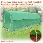Strong-Camel-Greenhouse-246-X10-X-7-Portable-Walk-In-Outdoor-Plant-Gardening-Hot-Green-House-with-ABS-Snap-Clamp-0-2