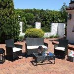 Sunnydaze-Adelaide-Patio-Furniture-Set-4-Piece-Outdoor-Wicker-Rattan-Construction-with-Cream-Cushions-0-0
