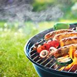 Unique-Imports-BBQ-Charcoal-Kettle-Grill-18-Moving-Wheels-Outdoor-Smoker-Heat-Portable-Backyard-Cooking-Camping-Steak-Backyard-Pit-master-Tailgating-0-0