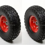 WennoW-2-x10-Flat-Free-Tire-for-Hand-Truck-Tire-Dolly-w-58-ID-Bearing-Filled-wFoam-0
