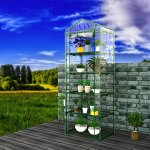 ferty-5-Tier-Heavy-Duty-Growhouse-Reinforced-Replacement-PVC-Cover-Garden-Plants-Greenhouse-0-0