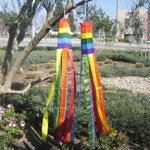 60-Lot-of-2-Rainbow-Nylon-Wind-Sock-Windsock-0-0