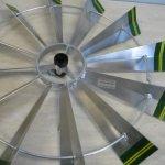 8-Ft-Premium-Aluminum-Decorative-Garden-Windmill-Green-Trim-0-0