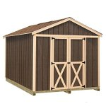 Best-Barns-Danbury-8-ft-x-12-ft-Wood-Storage-Shed-Kit-with-Floor-including-4×4-Runners-0