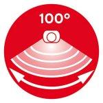 Brennenstuhl-SOL-04-1170970-Solar-LED-Wall-Light-with-Infra-Red-Motion-Sensor-IP44-2x-LED-05-W-85-lm-Black-0-2
