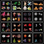 Christmas-Projector-LightWONFAST-Waterproof-LED-Landscape-Spotlight-Lamp-Light-Effect-with-16-Replaceable-Slides-for-Indoor-Outdoor-Halloween-Birthday-PartyWeeding-Garden-Home-Wall-Decoration-0-0