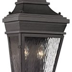 Forged-Provincial-2-Light-Outdoor-Sconce-in-Charcoal-0