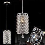 Gracelove-Modern-Crystal-Ceiling-Light-Pendant-Lamp-Fixture-Lighting-Chain-Chandelier-Including-2-Bulbs-0-0