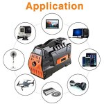 JASTEK-500W296Wh-Portable-Generator-Uninterruptible-Power-Supply-Pure-Sine-Wave-Inverter-with-Dual-110V-AC-Outlet-and-4-USB-Ports-for-Camping-and-Indoors-Black-0-2