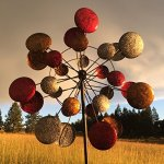 Jumbo-Modern-Art-Kinetic-Quadruple-Wind-Sculpture-Spinner-0-0