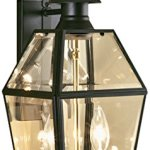 NORWELL-1066-BL-BE-Olde-Colony-Wall-Fixture-Lamp-Black-Finish-0