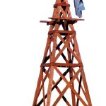 Outdoor-Water-Solutions-WTW0182-Wood-Windmill-Kit-0