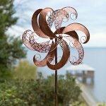 Wind-Weather-KA6880-Garden-Spinner-24-x-1025-x-75-Antique-Copper-Finish-0